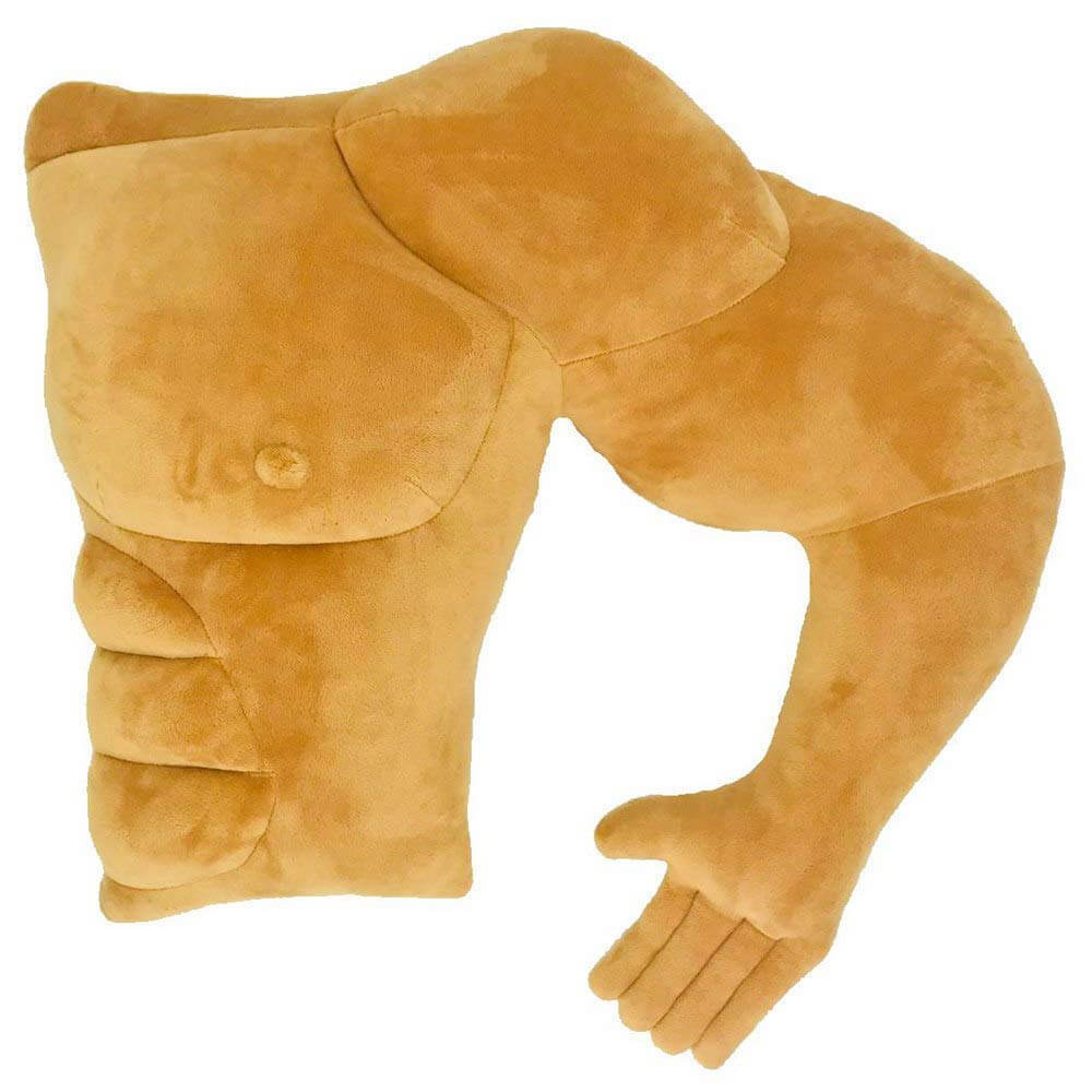 Muscle Man Boyfriend Pillow