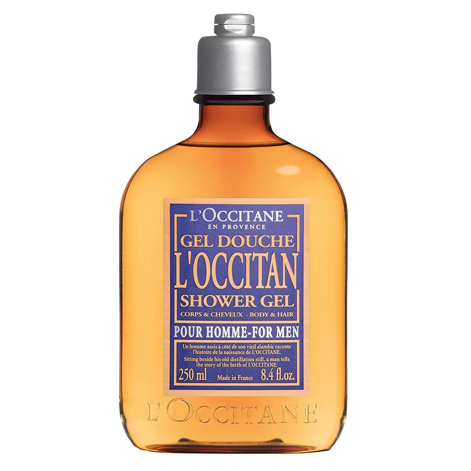 L'Occitan Mens Fresh Shower Gel