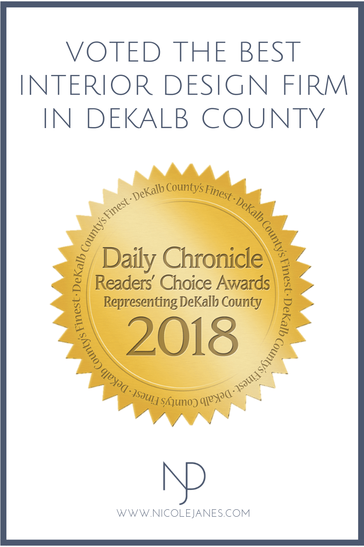 Nicole Janes Design Daily Chronicle 2018 DeKalb Counties Finest Awards Interior Design.png