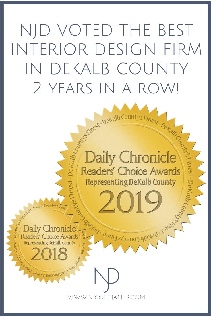 DeKalb Countys Readers Choice Awards 2019 Nicole Janes Design Interior Design Sycamore IL 60178.png