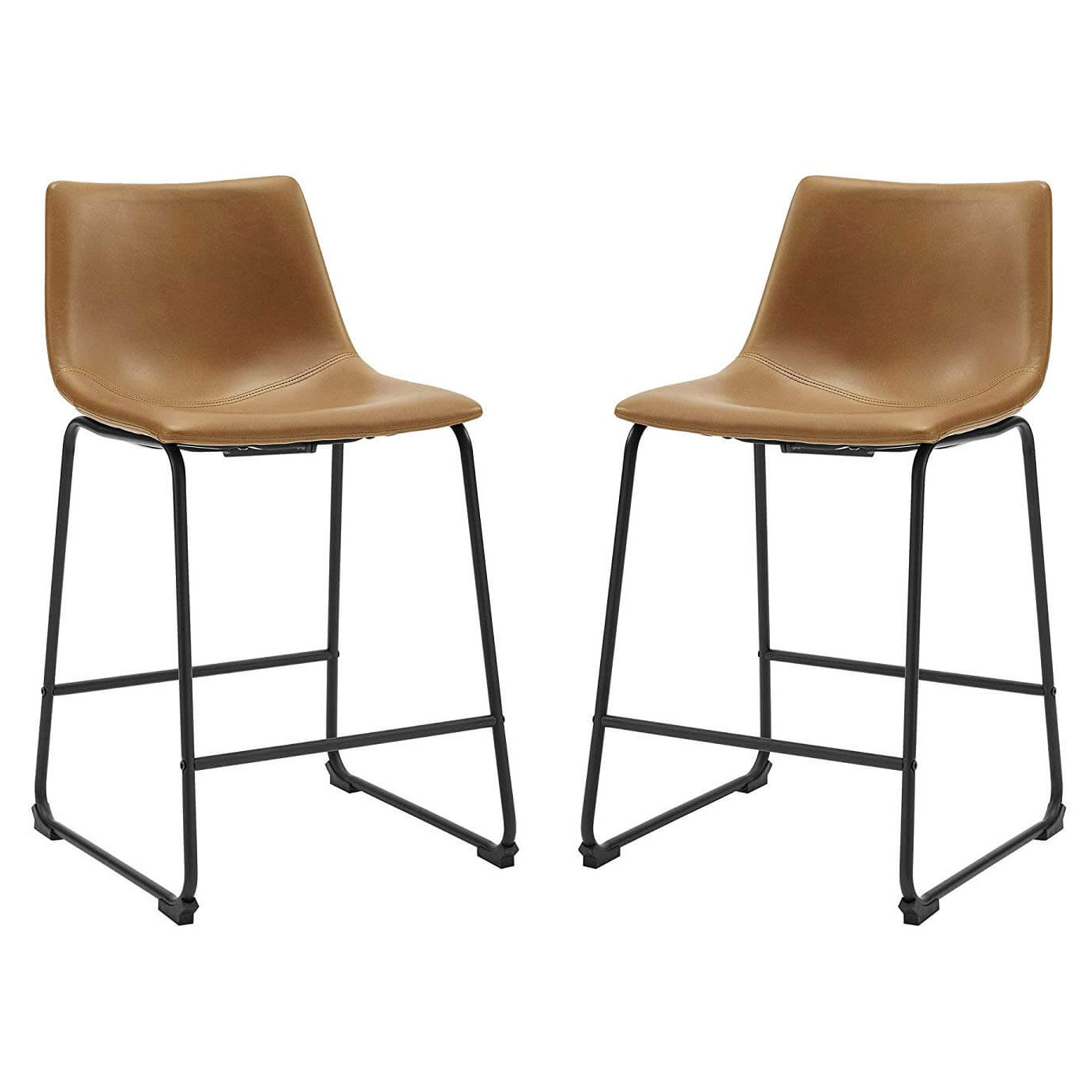 Set of 2 Walker Edison Counter Stools