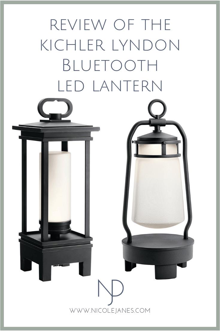 Kichler Lyndon South Hope Portable LED Lantern Bluetooth Speaker Portable Outdoor LIght Review