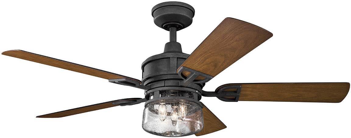 """Kichler Lyndon 52"""" Patio Ceiling Fan"""