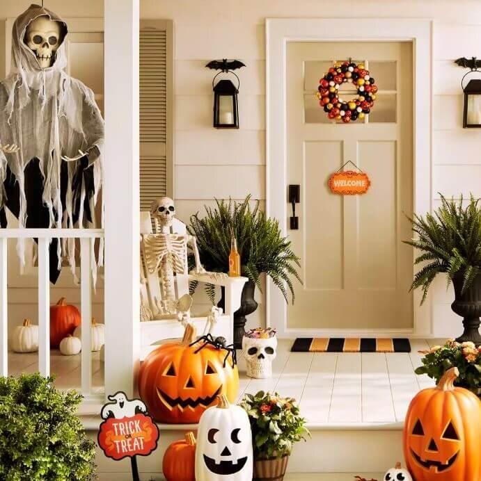 Target Outdoor Front Door Halloween Decor Decorations.jpg