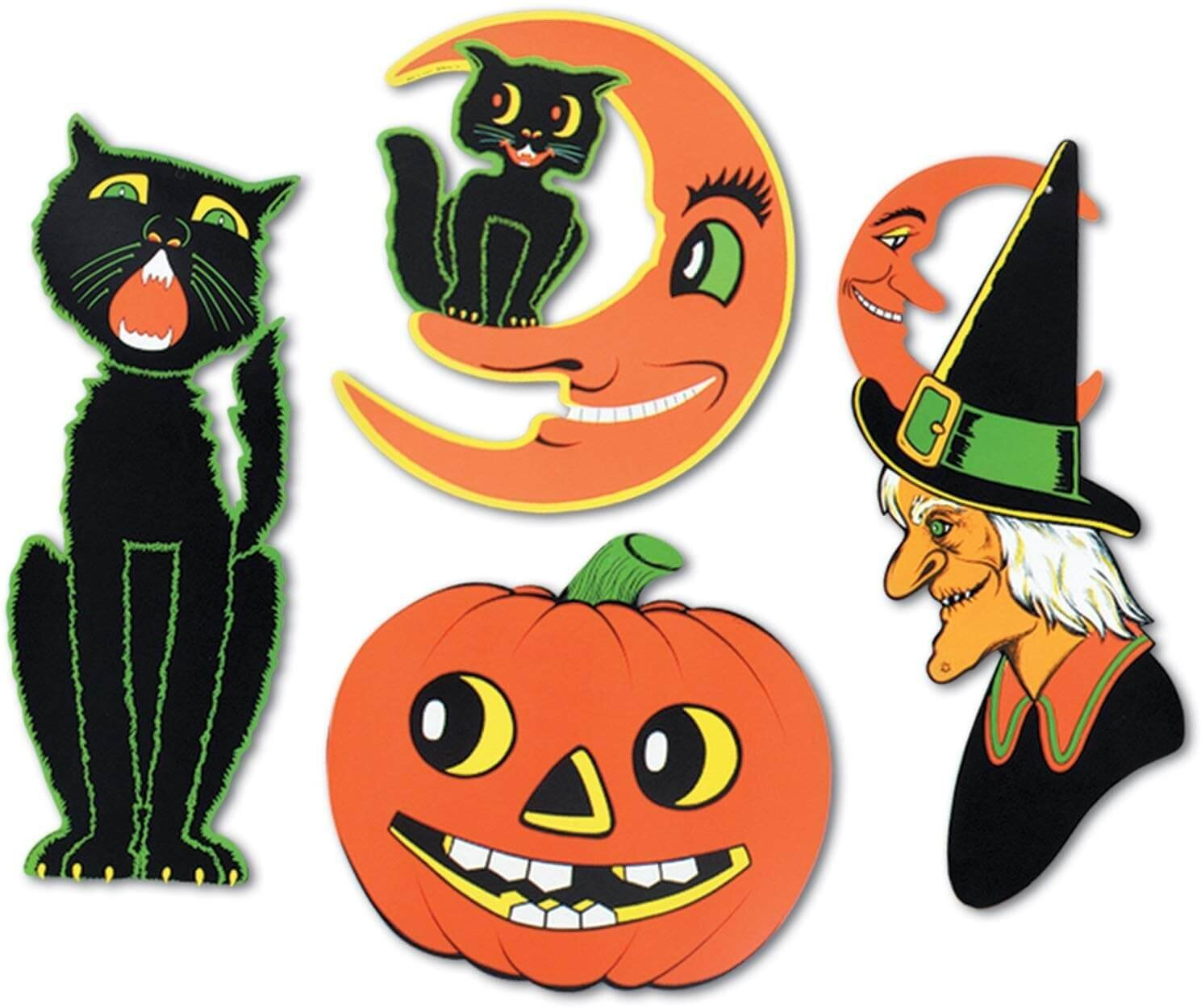 Beistle Company Vintage Halloween Decorations
