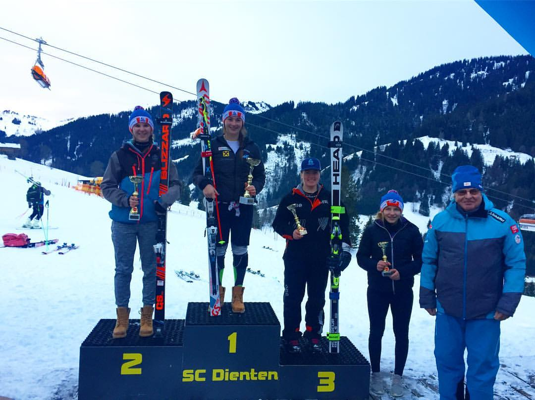 GS: 3rd overall - 2016 Dienten CIT race