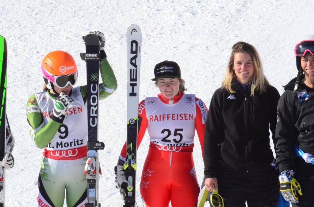 GS: 7th overall, PB of 29.84 - 2017 St Moritz World Championships - Qualification race at Zuos, Switzerland