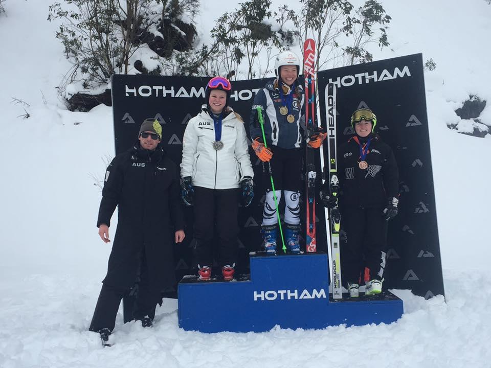 GS: 3rd overall - 2016 Mt Hotham ANC race, Australia