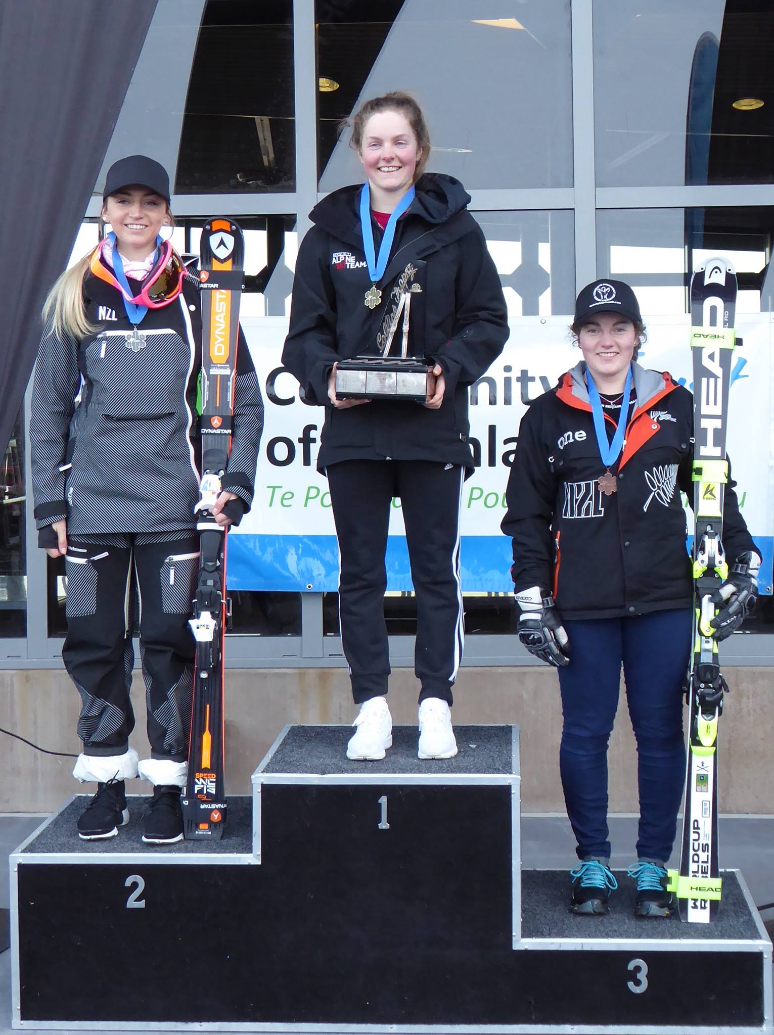 Slalom: 3rd Open and U21 National SL - 2016 NZ National Championship
