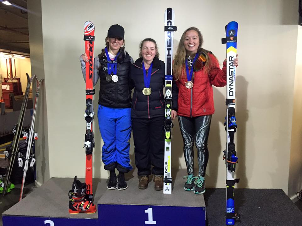 GS: First FIS win, 1st open and U21, scored 36. 39 - 2015 Perisher ANC race, Australia