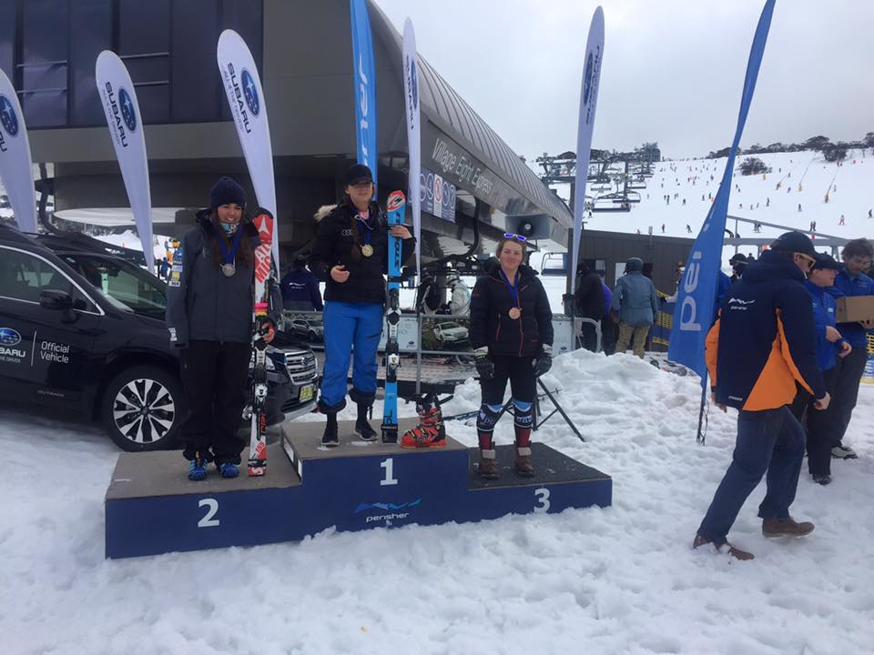 Slalom: 3rd place (open), 2nd U21 - 2015 Perisher ANC race, Australia