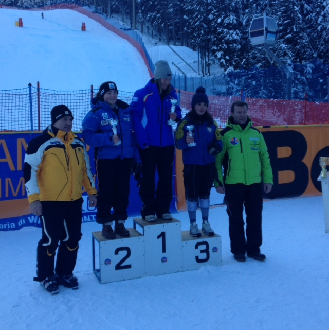 GS: 2nd place - First European podium - 2015 Italian NJR race