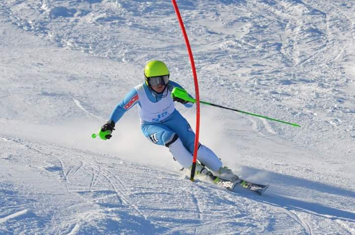 Slalom: 4th place (open), 3rd U21, PB of 48.47 - 2015 Perisher ANC race, Australia