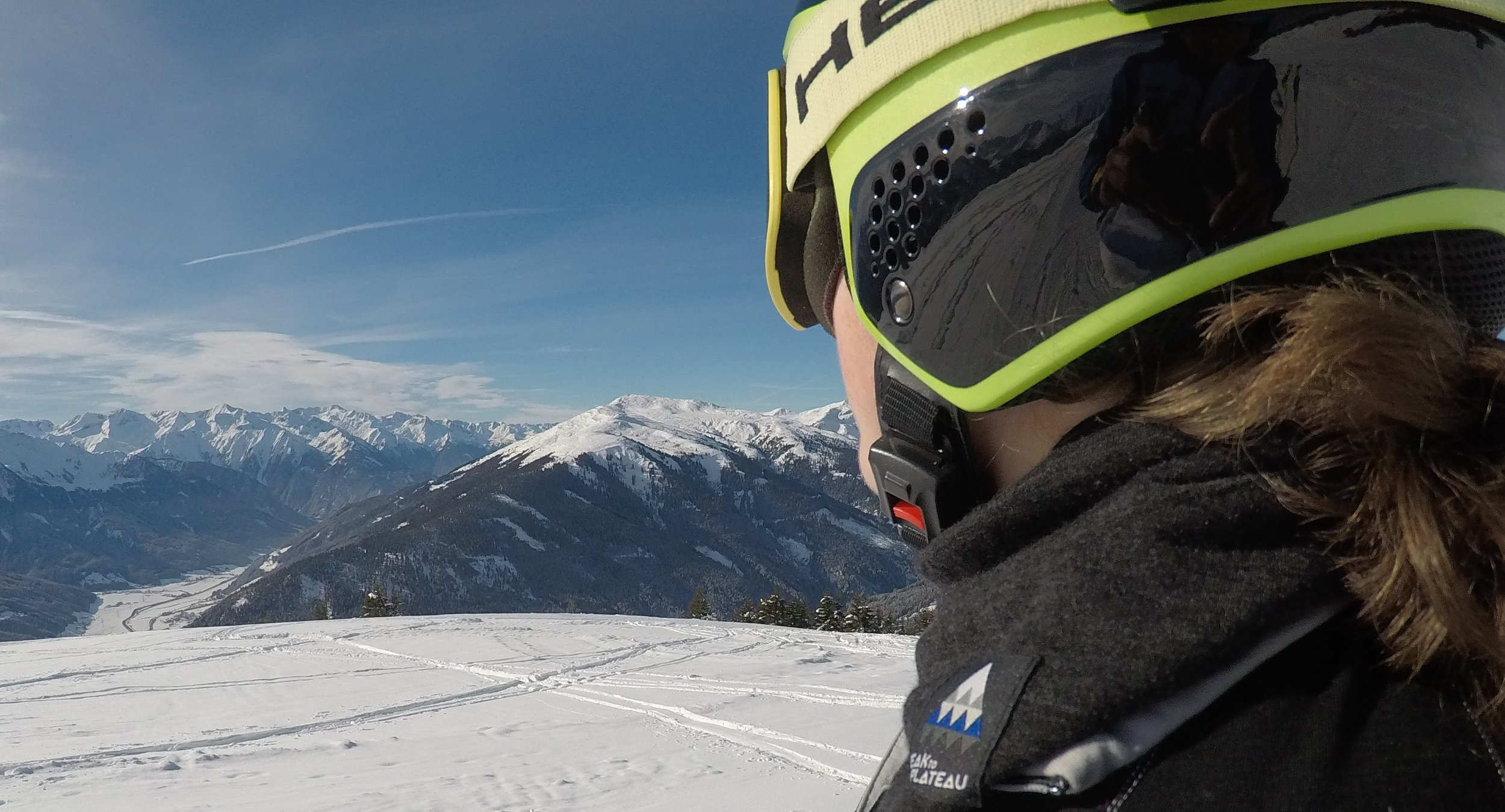 Top of Pass Thurn, Austria #peaktoplateau