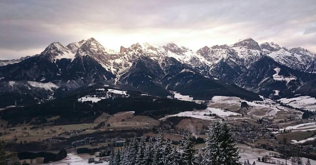 View from Hinterreit, Austria
