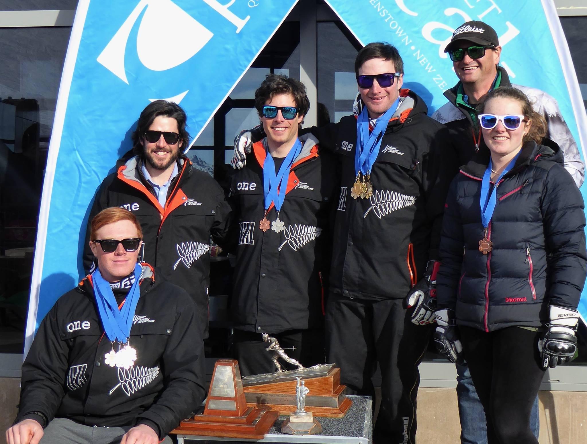 2015 Team (L-R Nick Prebble, Robbie Moore, Adam Barwood, Willis Feasey, Hamish Edward and I)