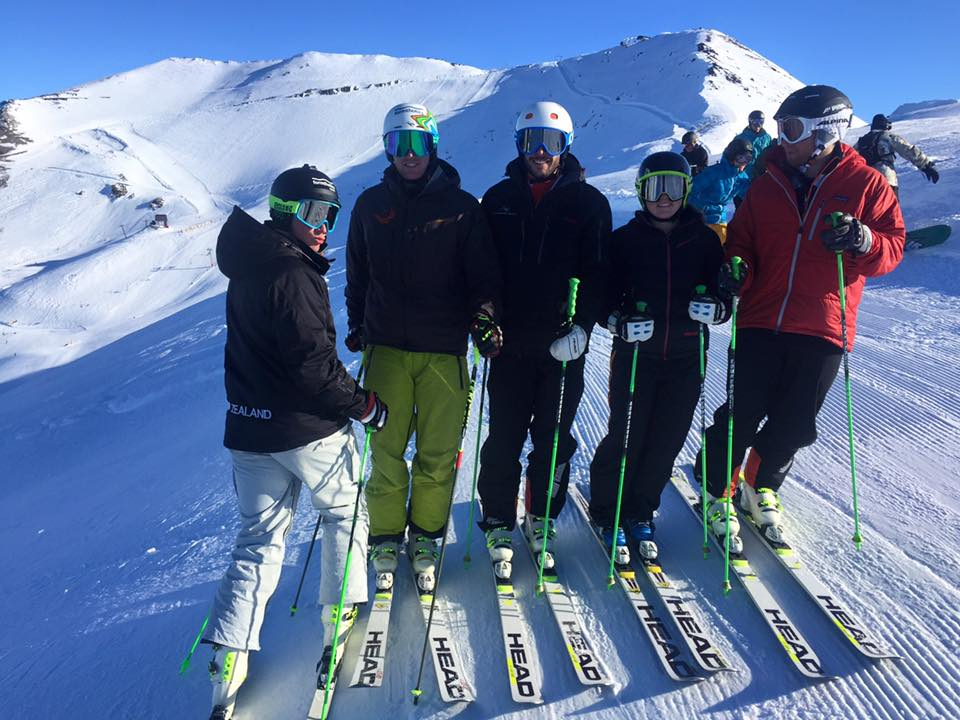 Pre-season training at Mt Hutt 2015