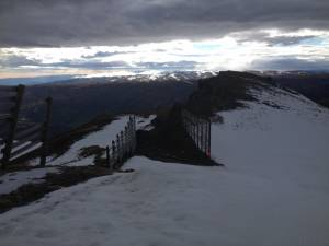 View from top of Cardrona at our final ski camp