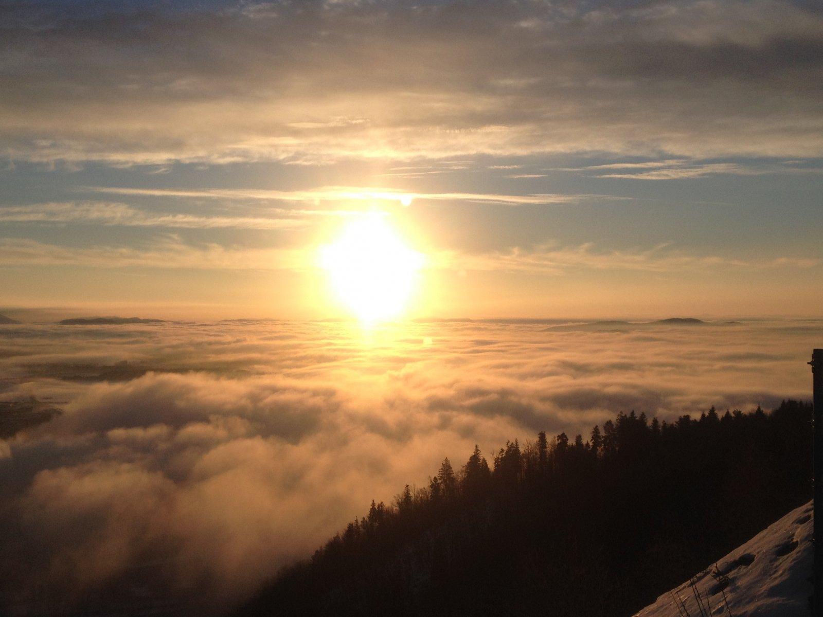 Slovenian sunrise
