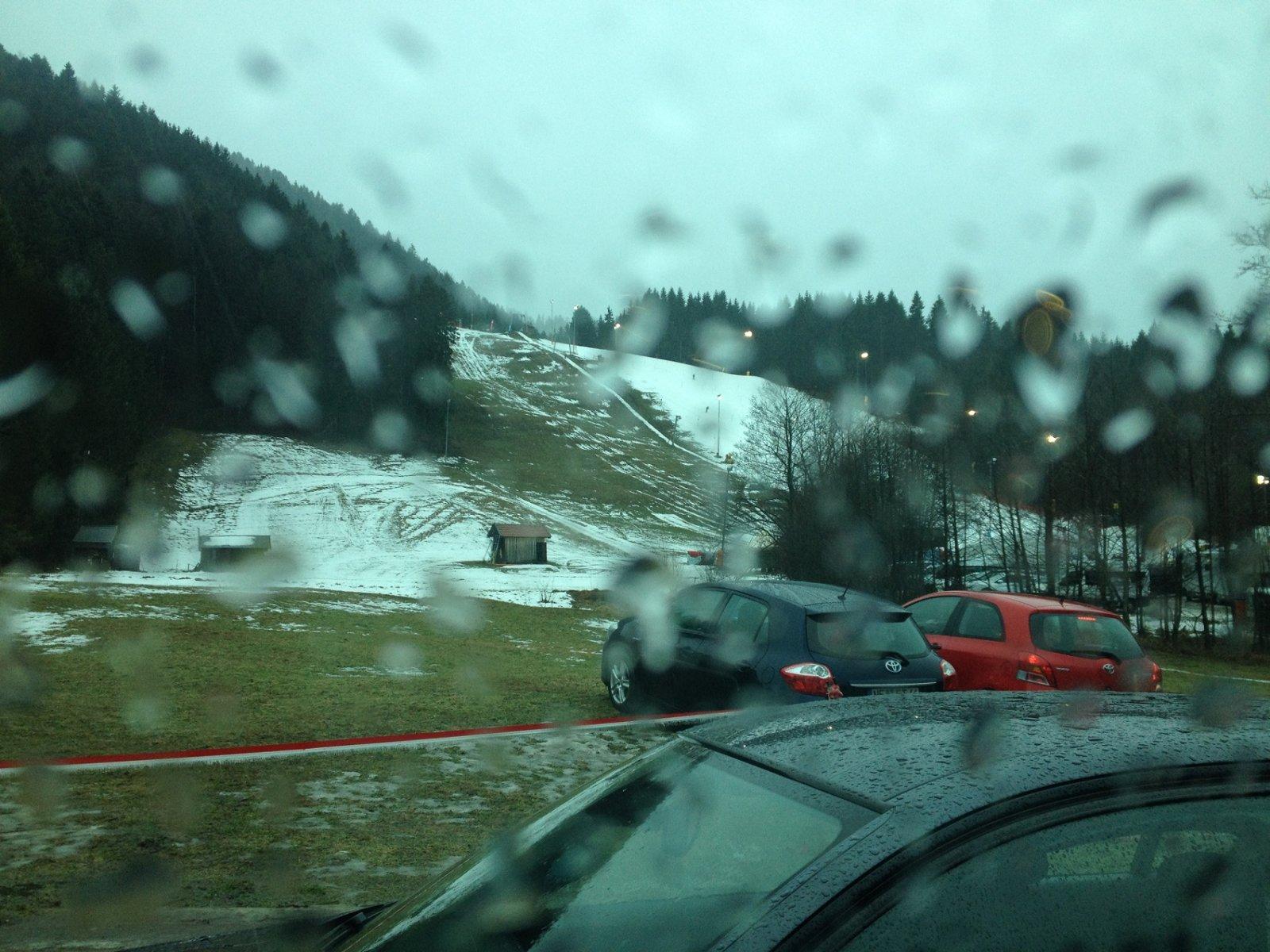 Lack of snow :(