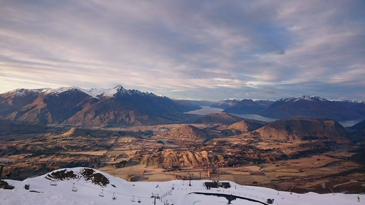 Good to see the amazing view from Coronet Peak again