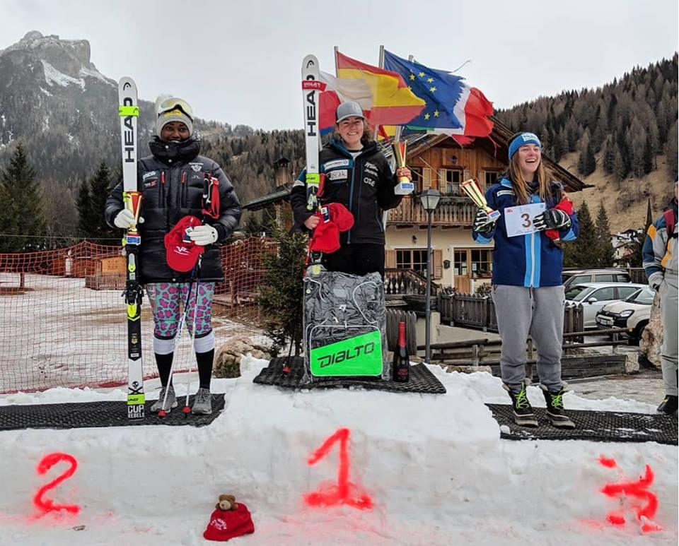 Winning Civetta GS race