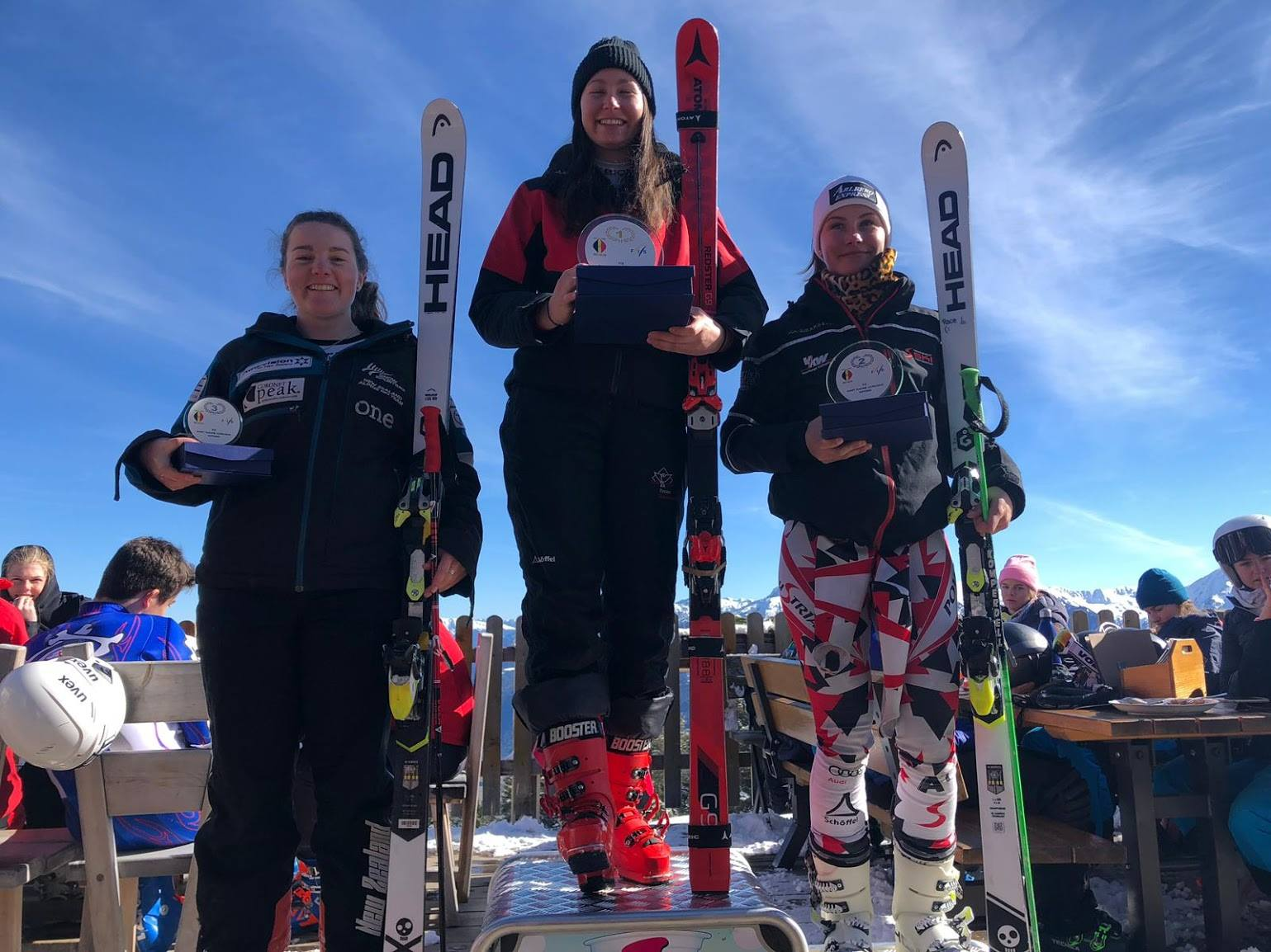 GS: 3rd Overall - 2019 Belgian FIS