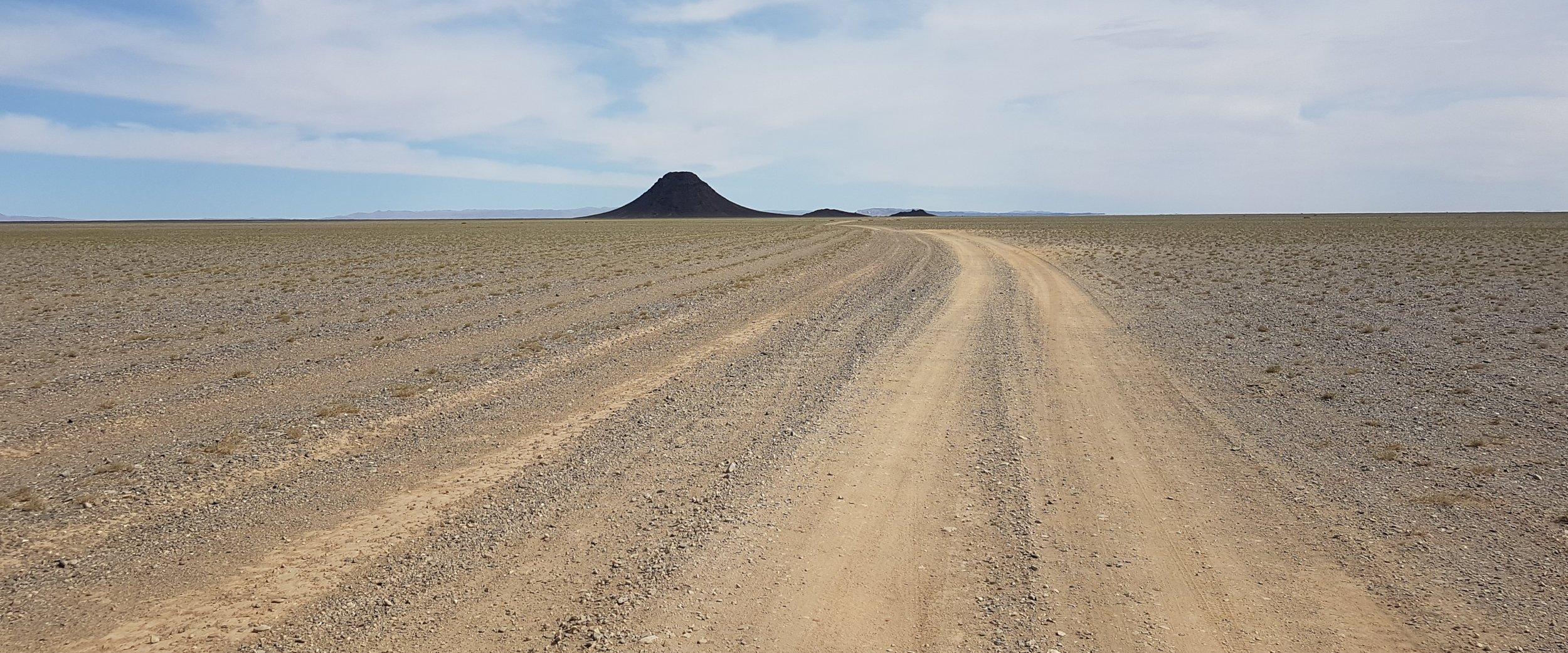 The Gobi Desert is some 2000 kilometres across