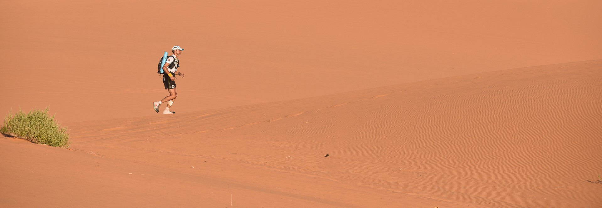 In the sands of Utah, courtesy Grand to Grand Ultra