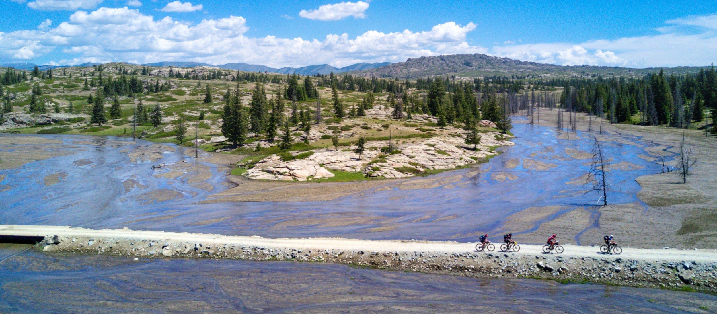 Wild Xinjiang terrain, Xtrail Altay