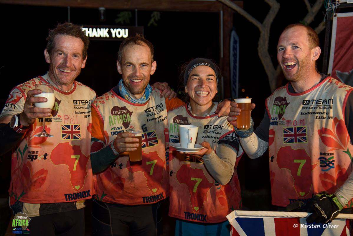 From 35th to 7th at the finish, © Kirsten Oliver, Expedition Africa