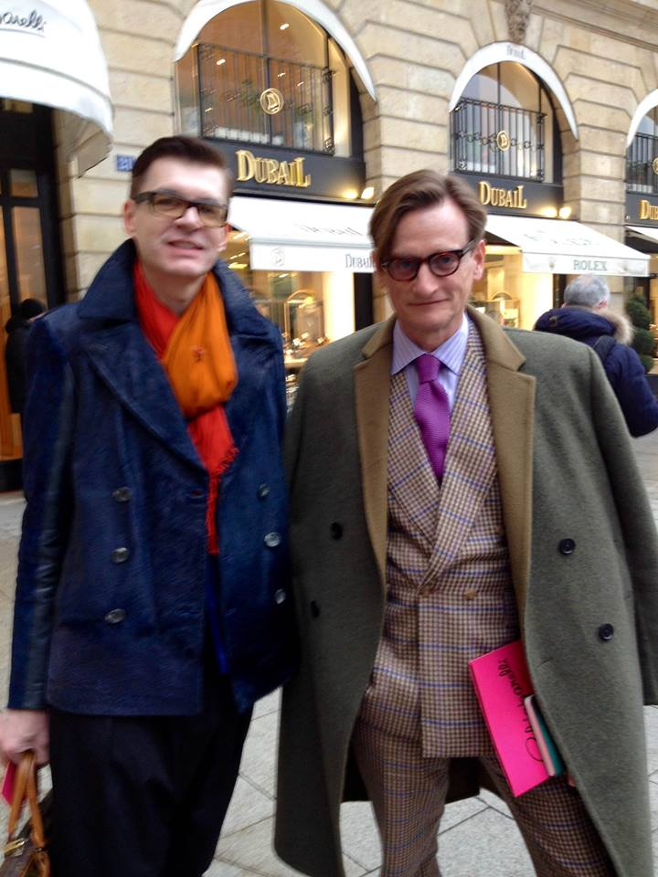 with Hamish Bowles