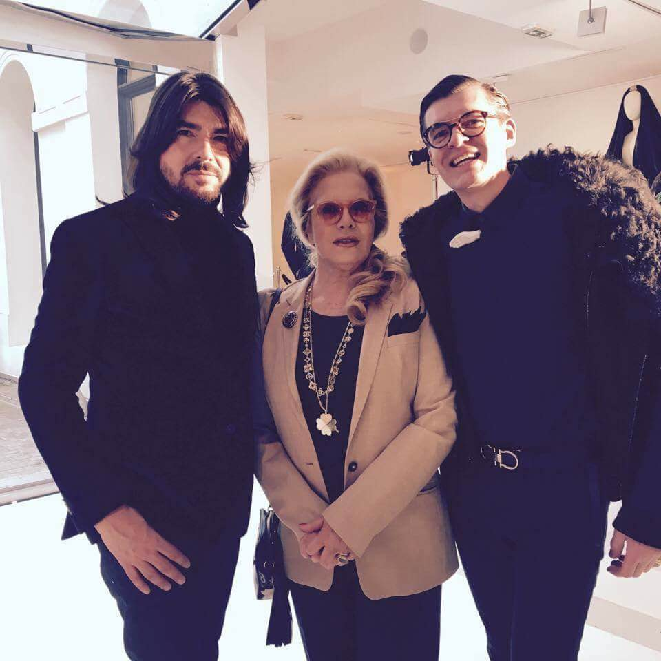 with Stephane Rolland