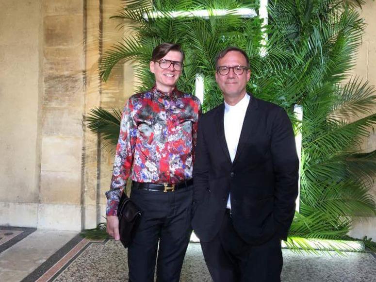 with Stephane Le Duc