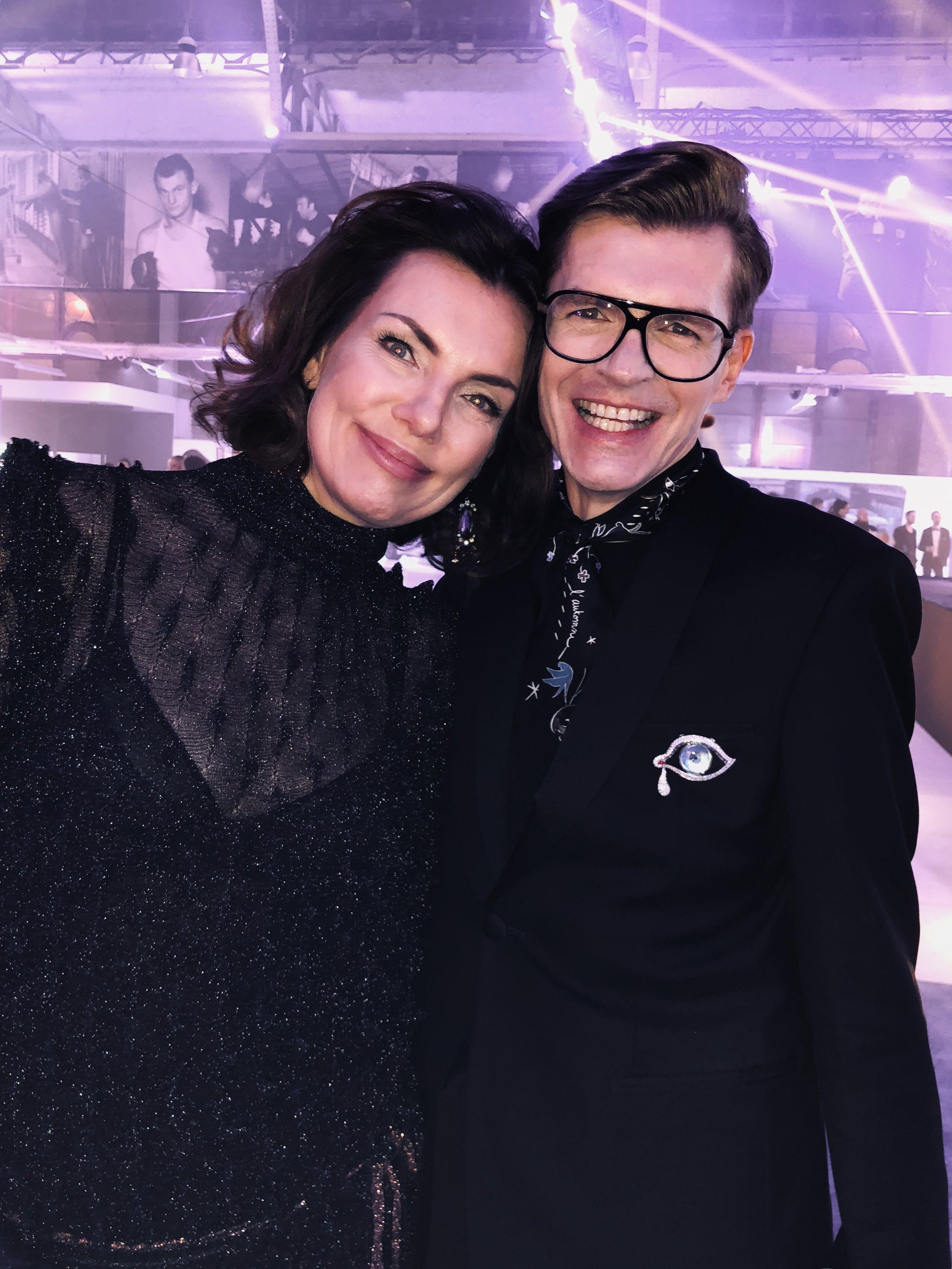 with Joanna Góra