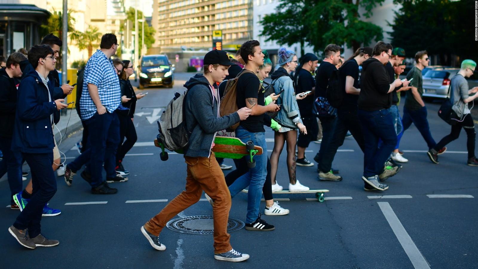 Cellphone Walk