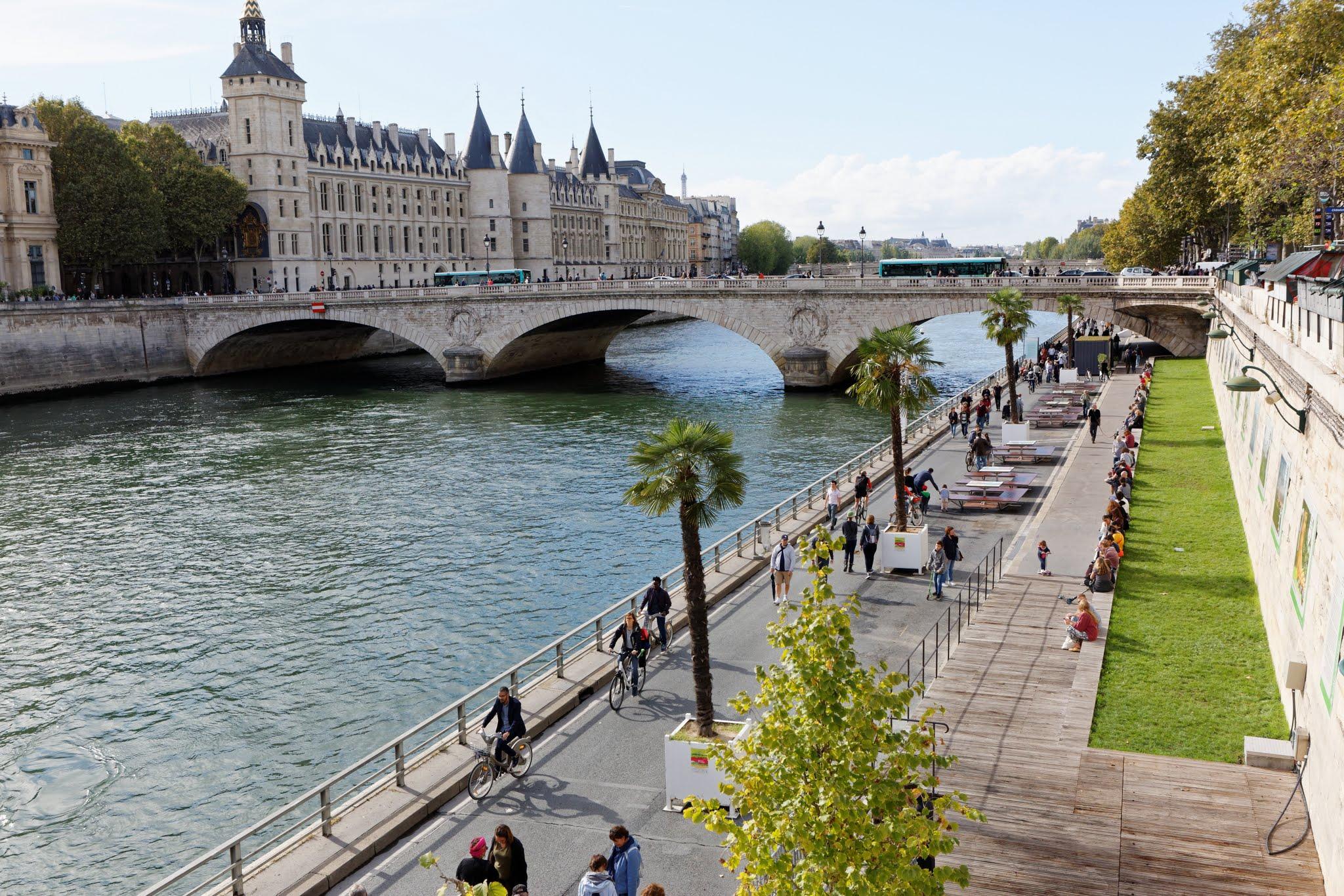 Les Berges de Seine à Paris