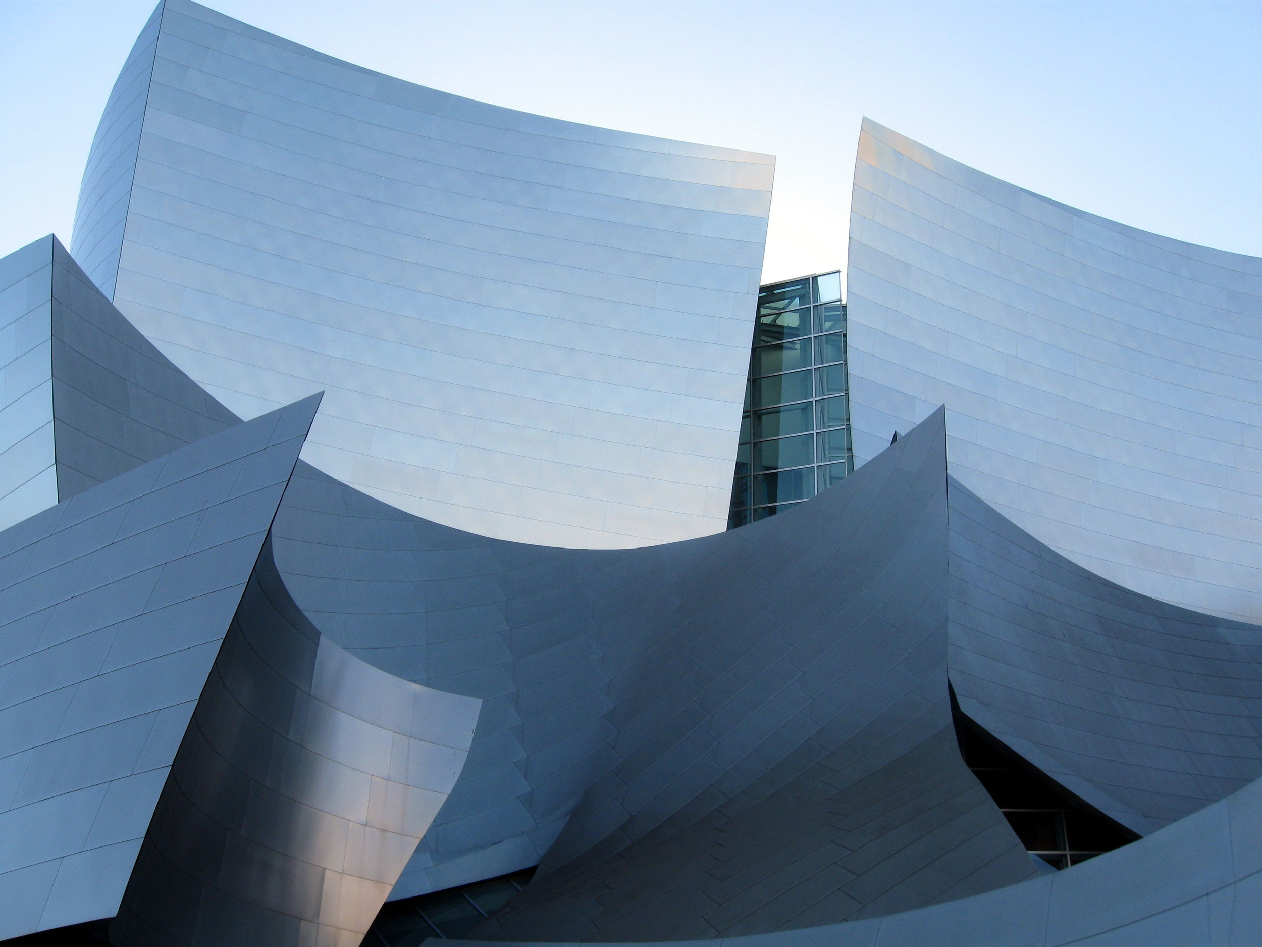 Walt Disney Hall par Frank Gehry - Los Angeles.
