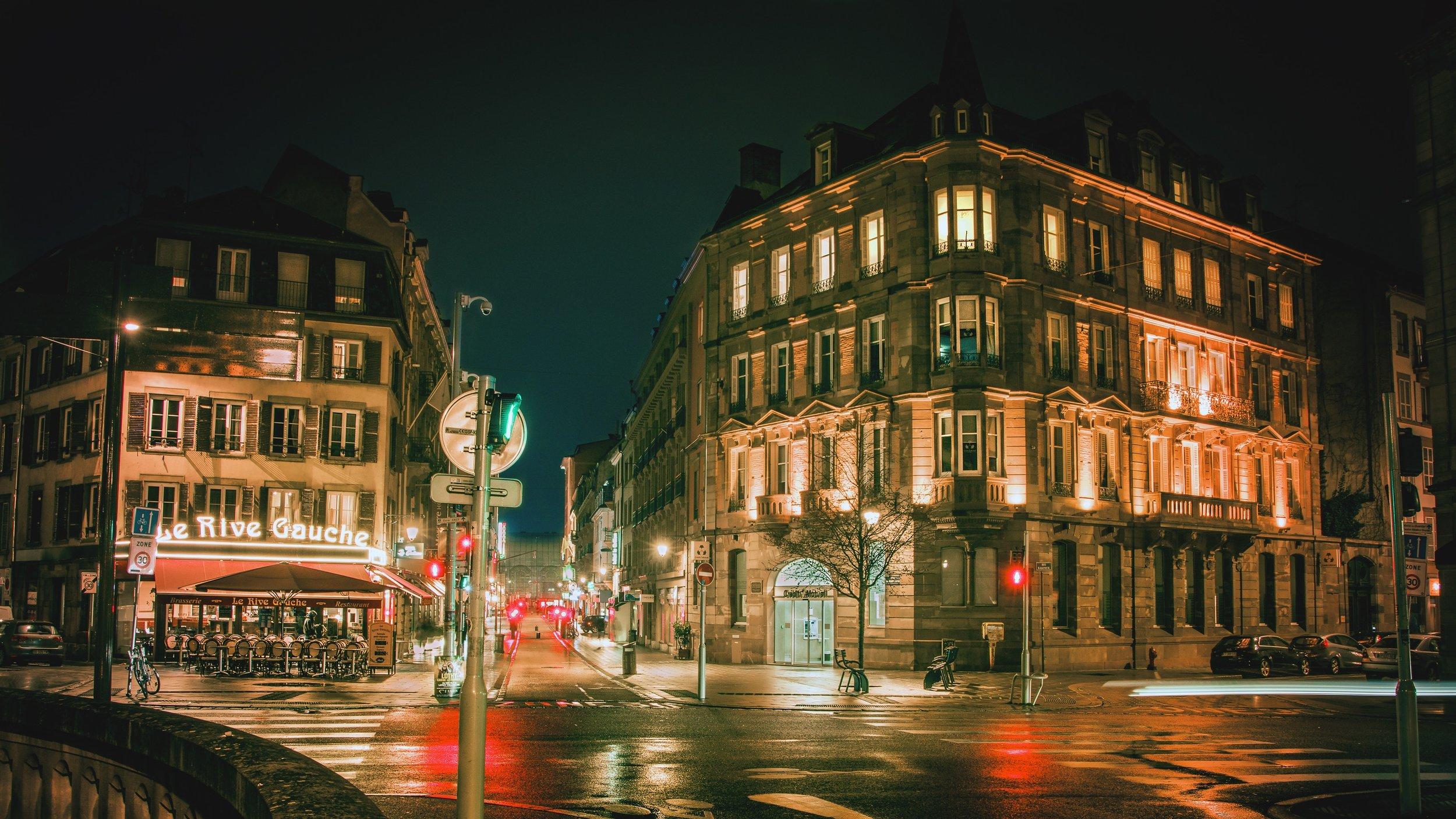 Quai Saint-Jean, Strasbourg.