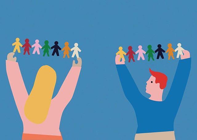 Illustration for @lawspring on gender segregation in schools