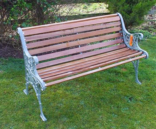 The Two Seater Bench - go to   Gallery   for larger photos