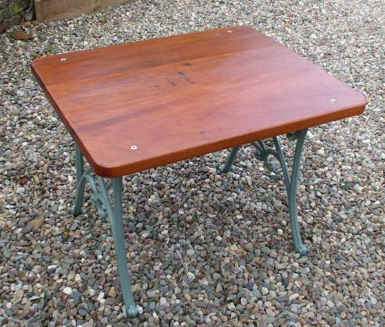 Solid Teak Table - go to   Gallery   for larger photos