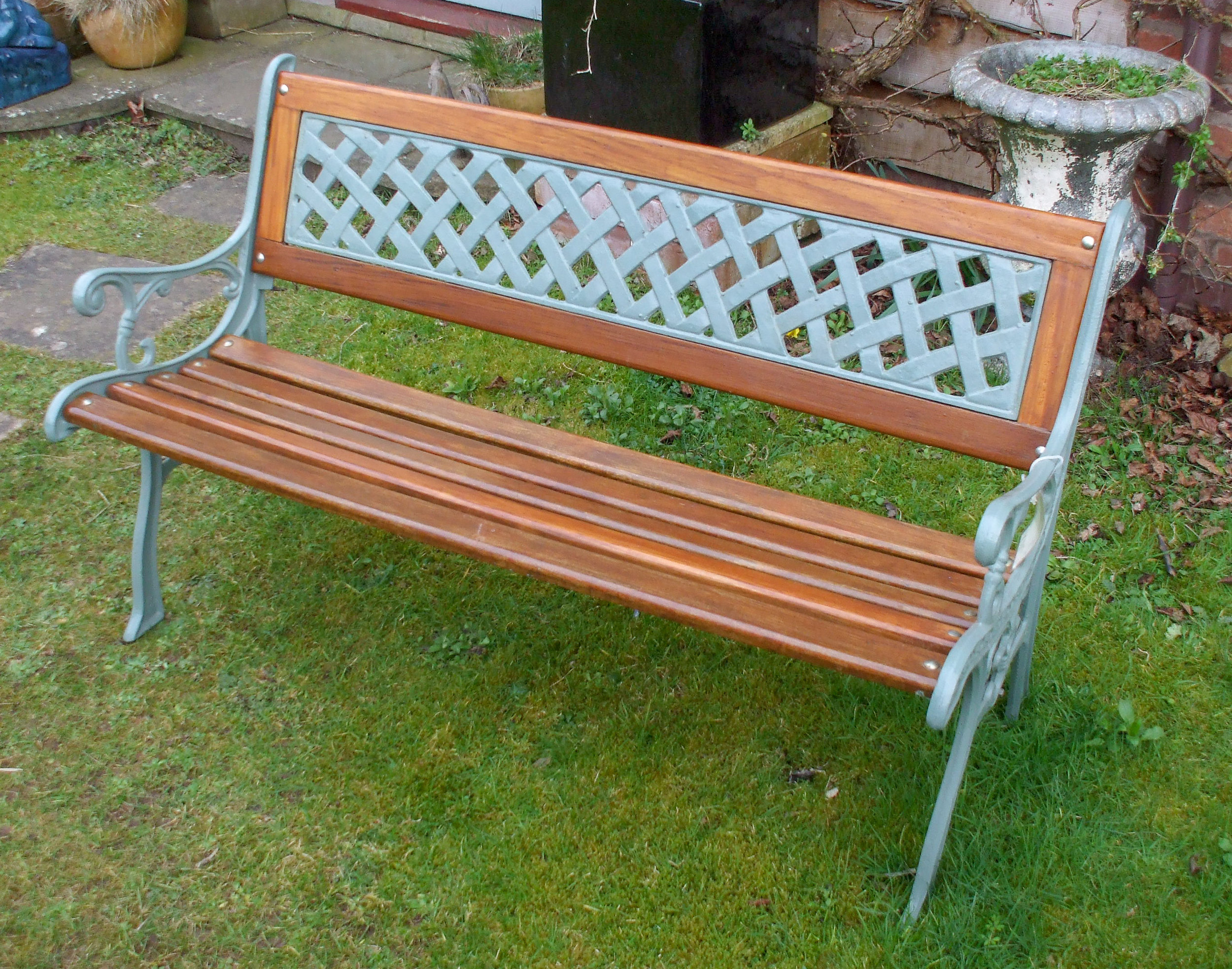 Two Seat Bench - go to   Gallery   for larger photos
