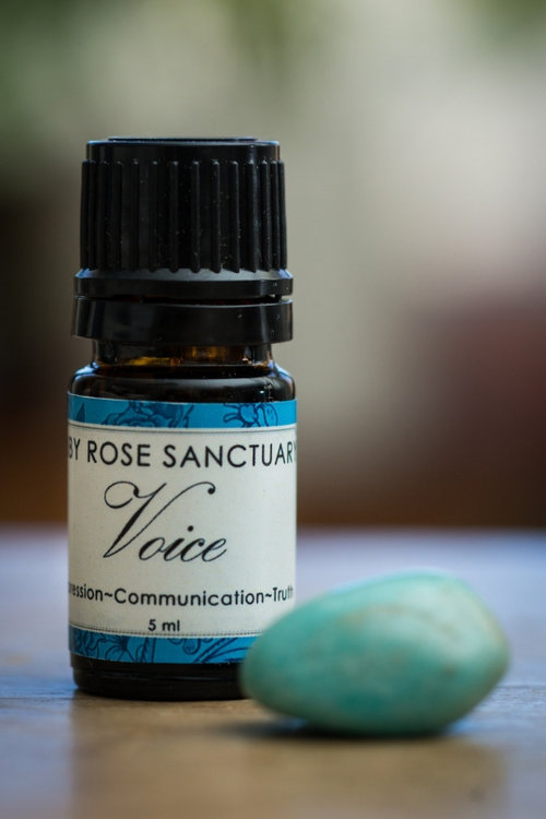 [VOICE] Throat Chakra Anointing Oil