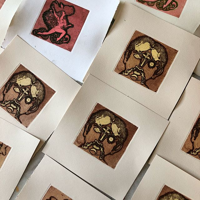 Details from a series of etchings - Memoirs. Soon to be exhibited at @gallerythreshold . . . . . . . #thegoldenwomb#art#illustration#printmaking#etching#zinc#pirategraphic#blvart#drawing#handmade#thedesigntip#adobe#seemakohli#wip#illustree#arts_help#artistoninstagram#printstudio#etchingart#etchingprint#etchingplate#art_empire#artlife#artshow#printdesign . . .