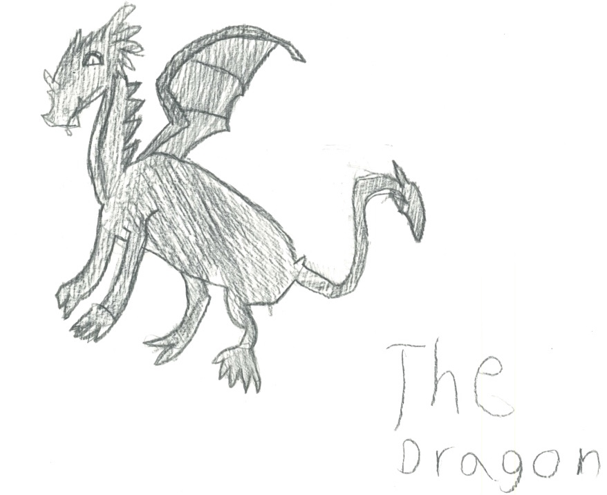 The Dragon by  Analise Schroeder