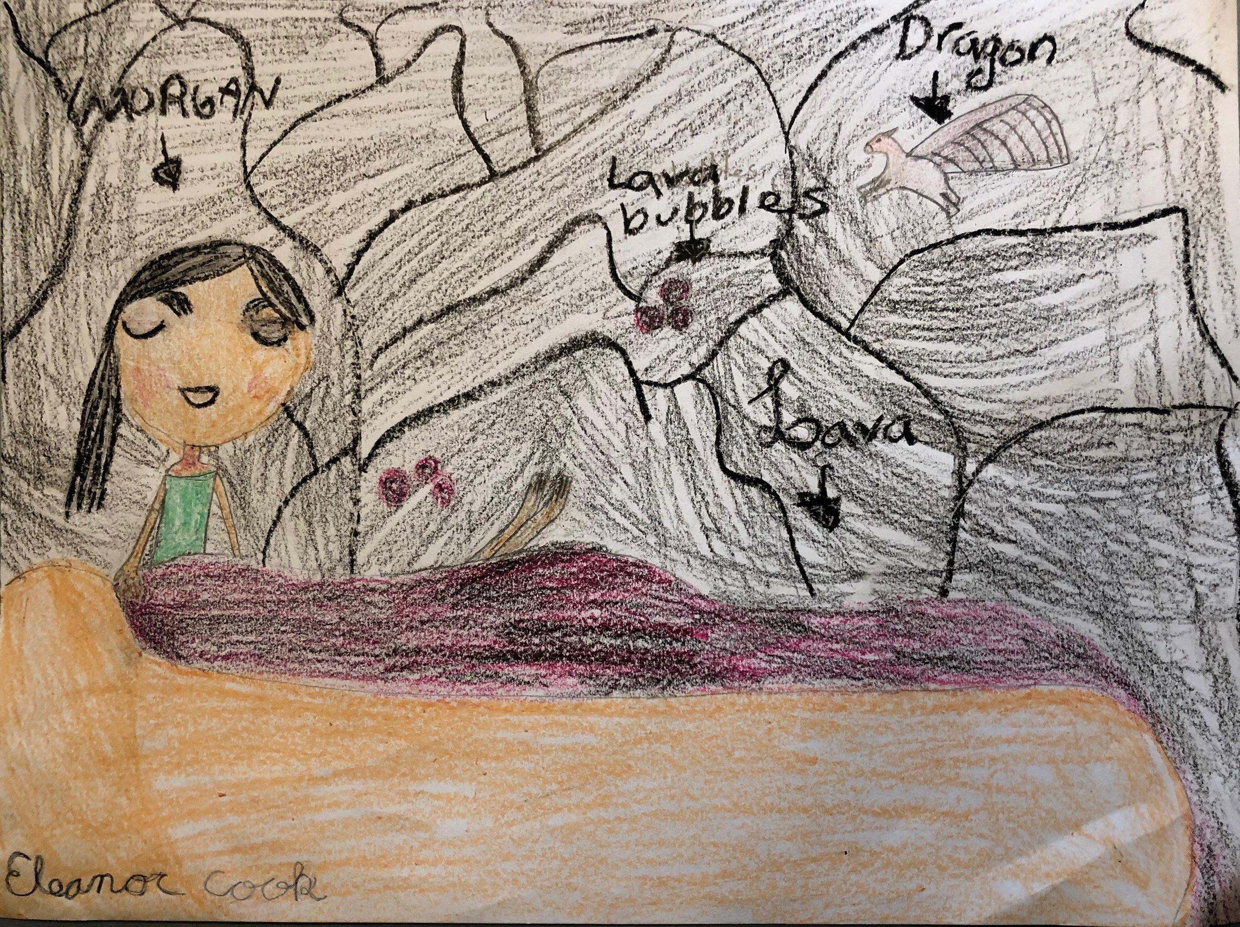 Lady Morgan Takes a Lava Bath by  Eleanor Cook
