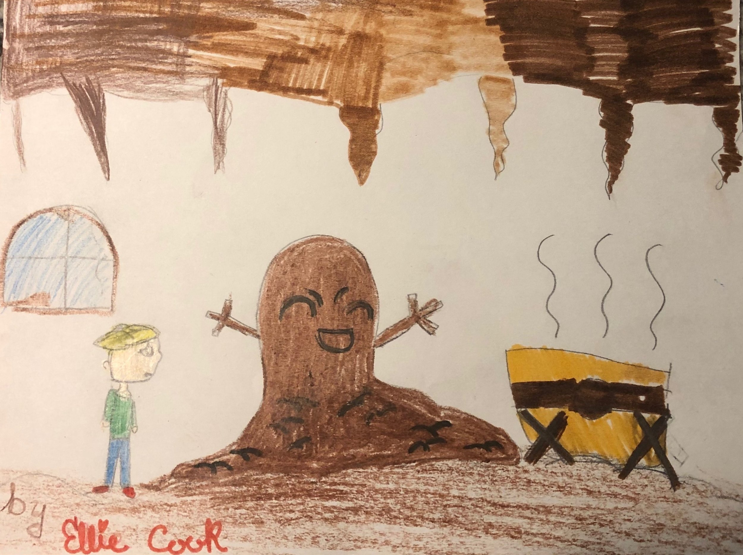 The Muck Monster's Lair by  Ellie Cook