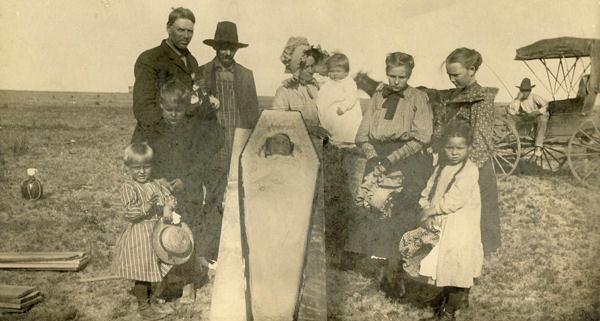 Home Funeral Circa 1800s