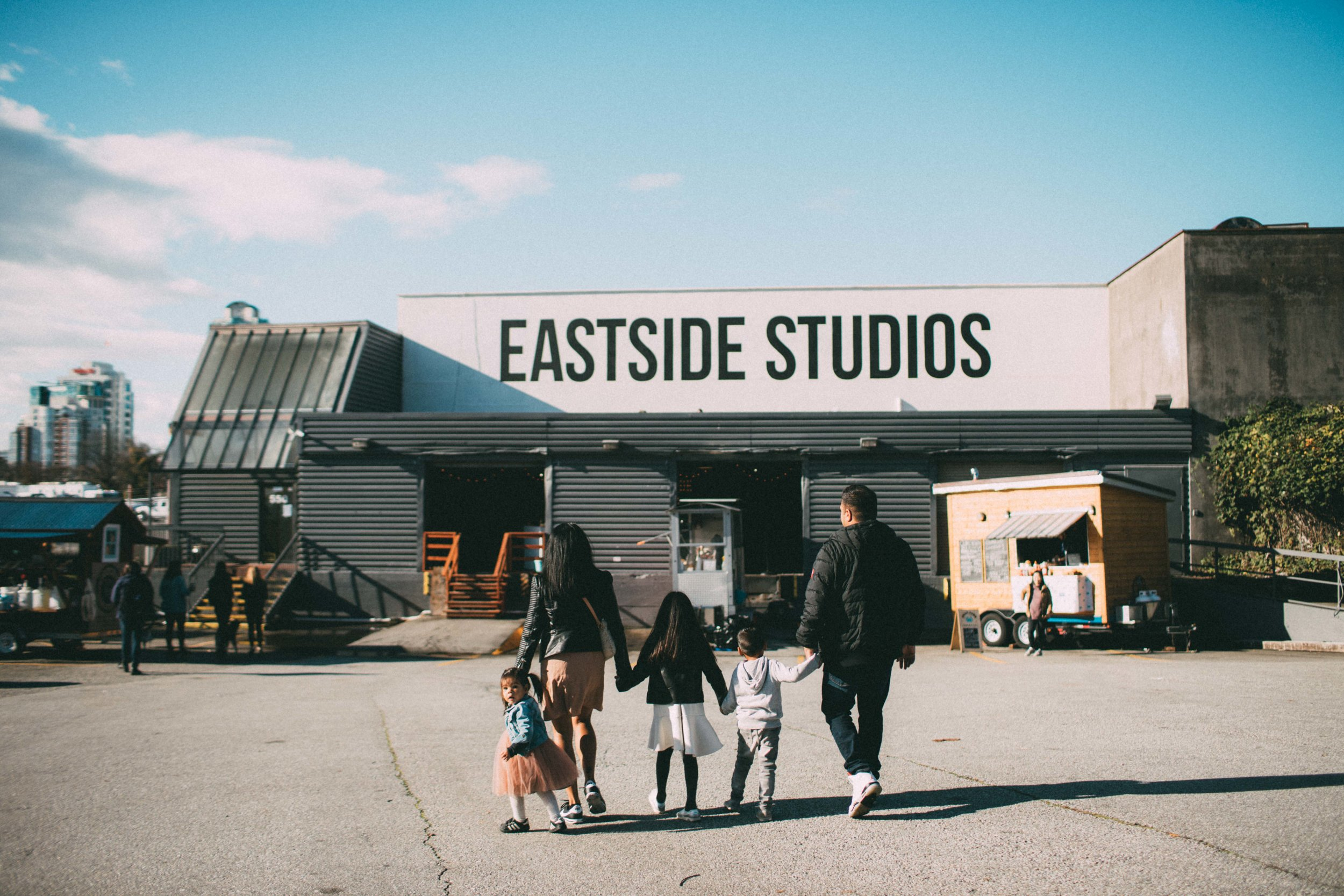 Eastside Flea With Family